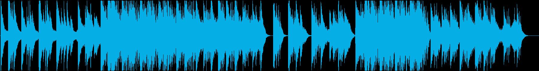 ピアノが印象的なインスタレーション音楽2の再生済みの波形