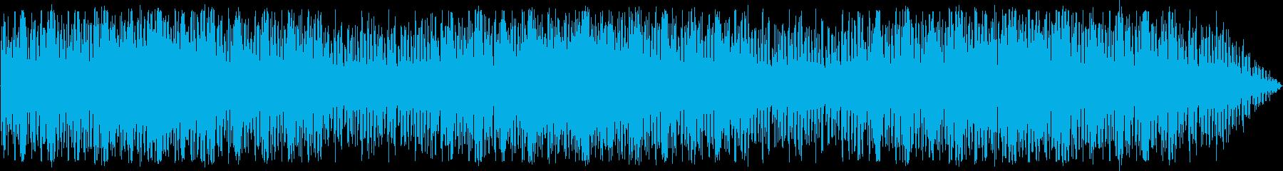 可愛いメロディが印象的なチップチューンの再生済みの波形
