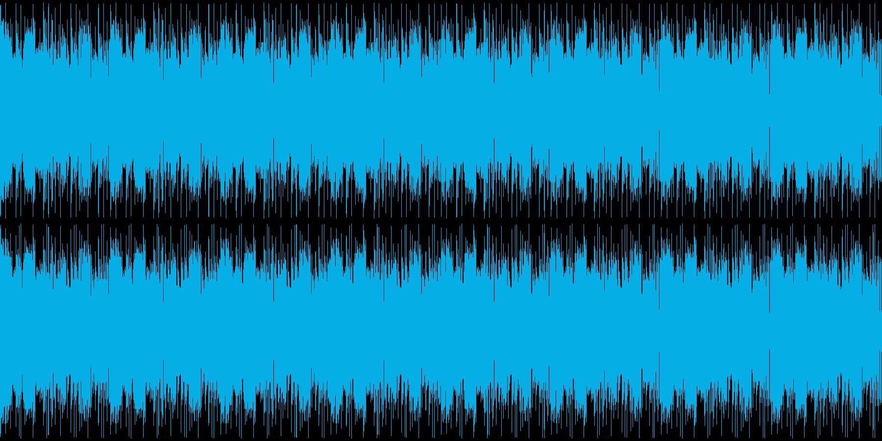 【探偵風JAZZ】の再生済みの波形