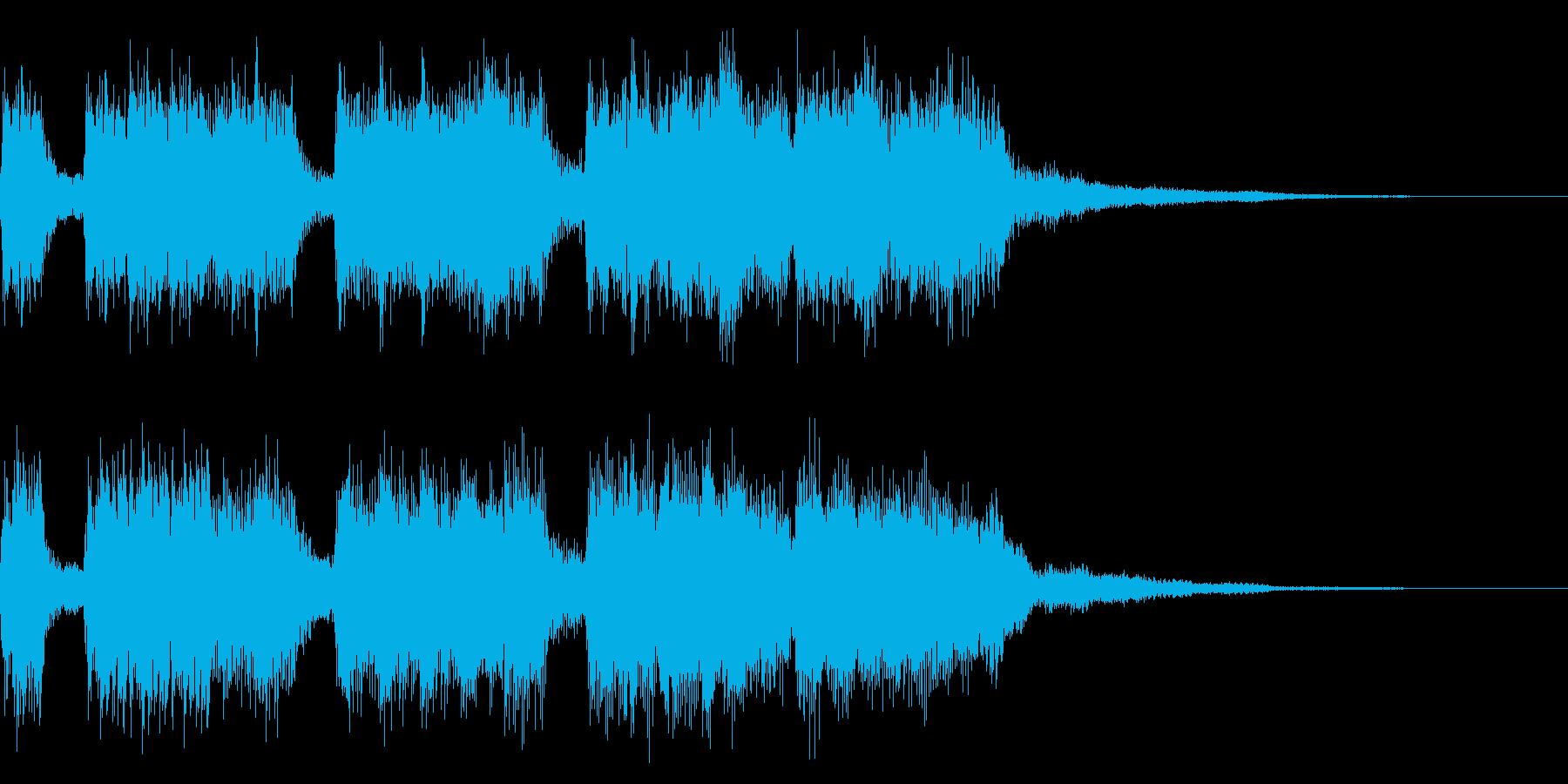 8bit風ファンファーレ 栄光 勝利の再生済みの波形