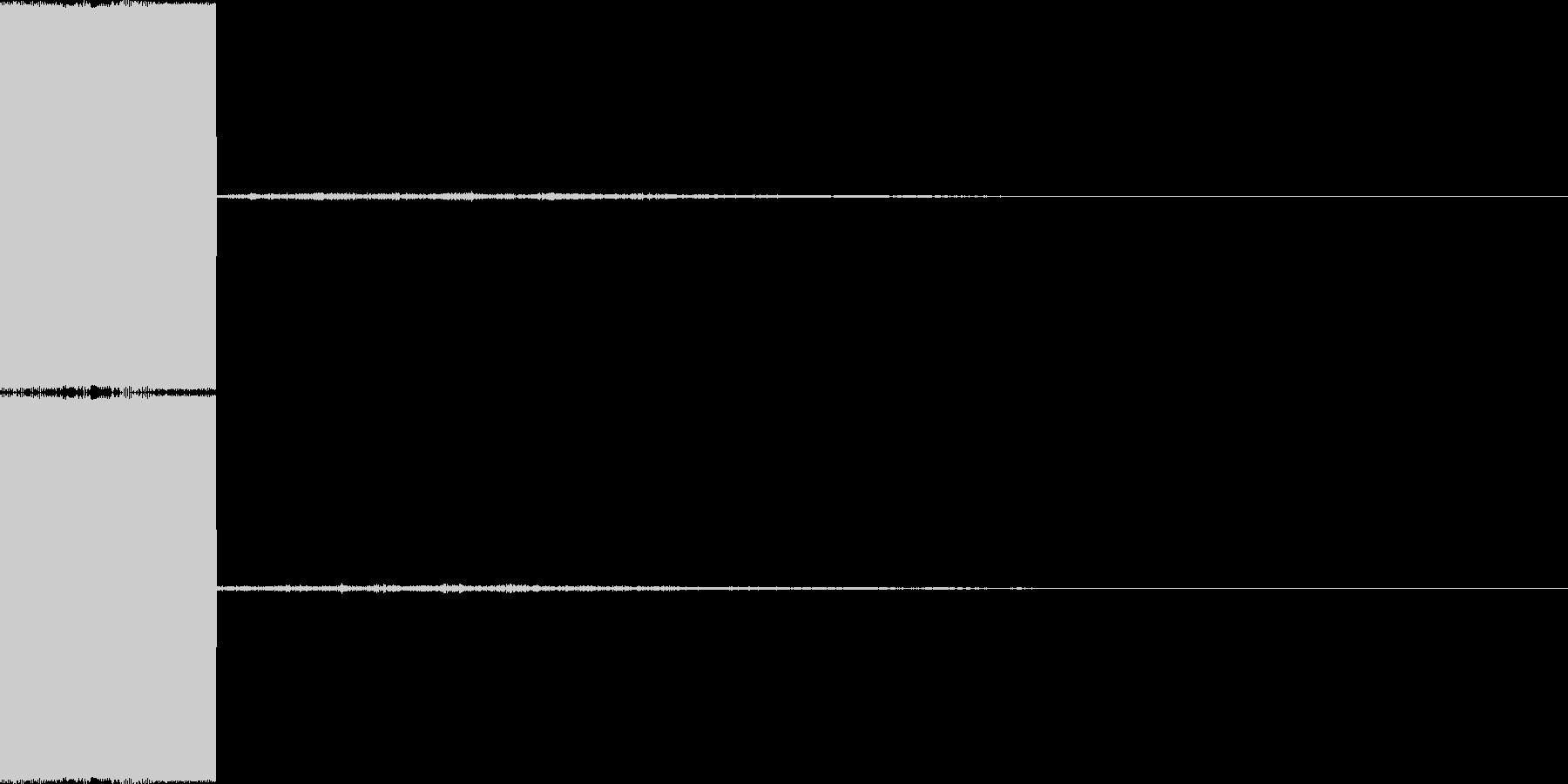 決定音・選択音・入手音【8】の未再生の波形