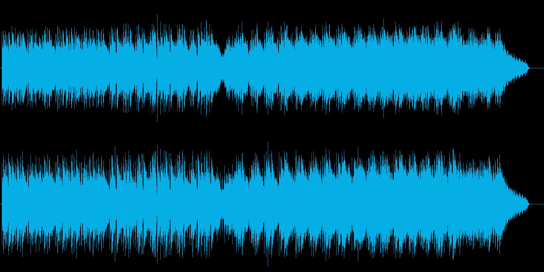 感傷的なアコースティック・バラードの再生済みの波形