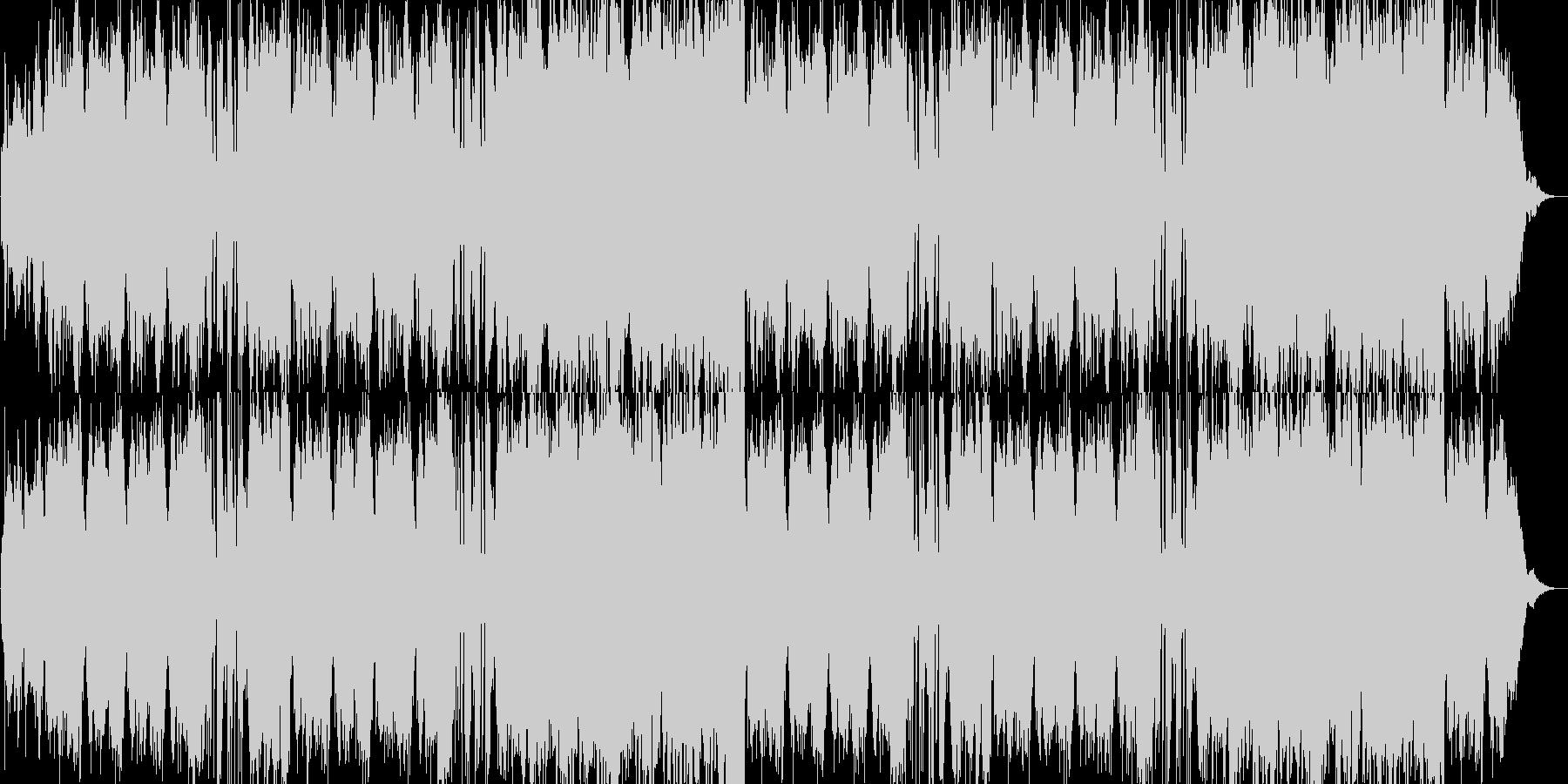 弦楽四重奏+ハープの優雅で穏やかな曲の未再生の波形