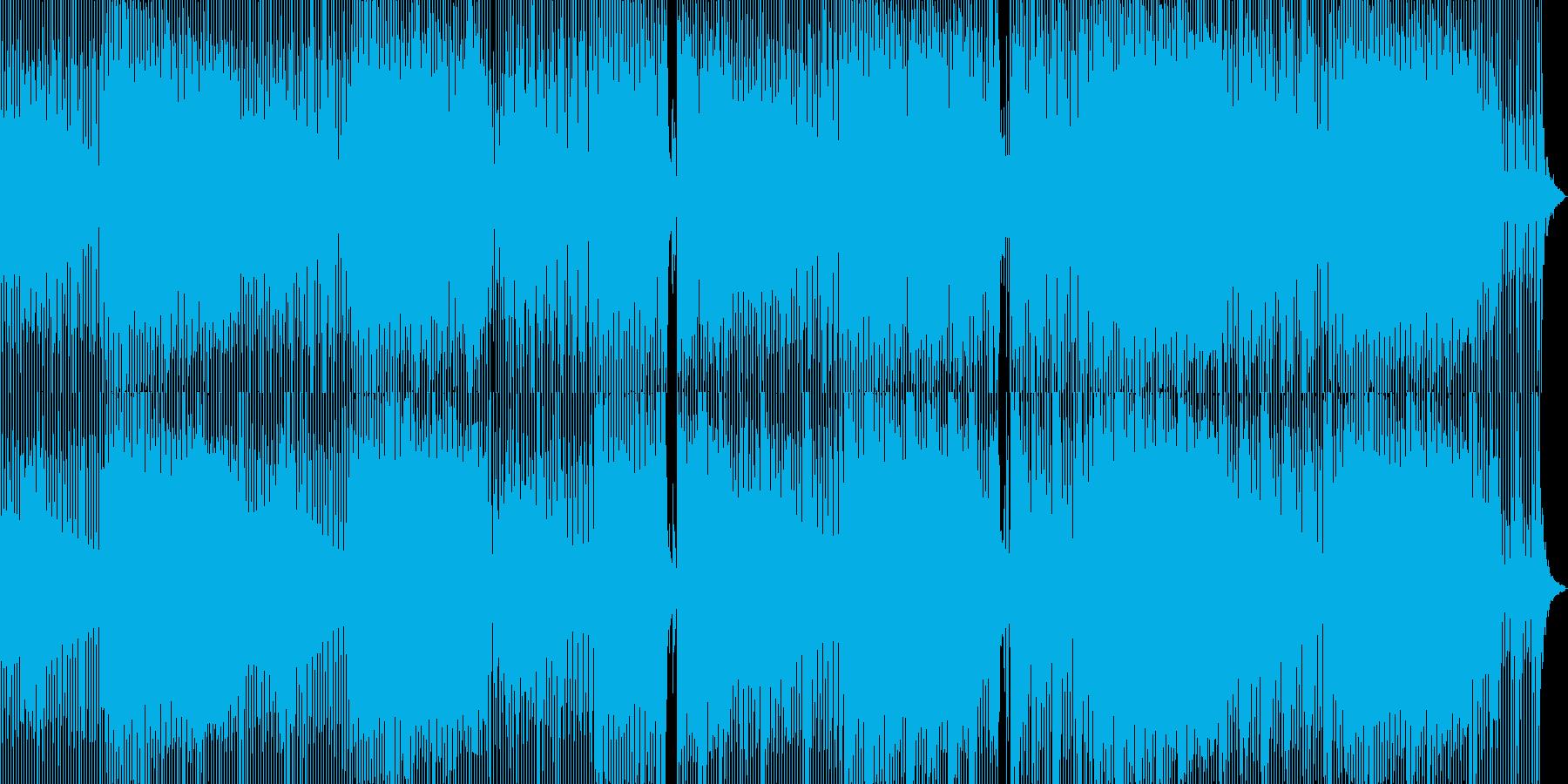 古代幻想的ミニマルテックダブの再生済みの波形