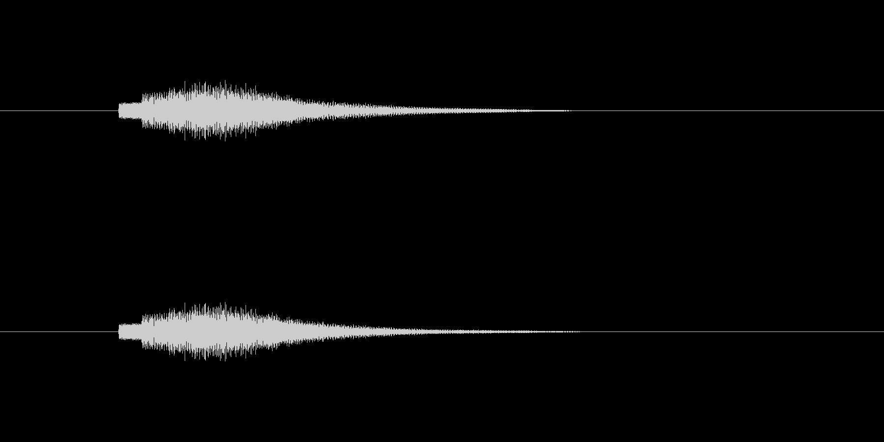 【ショートブリッジ20-5】の未再生の波形