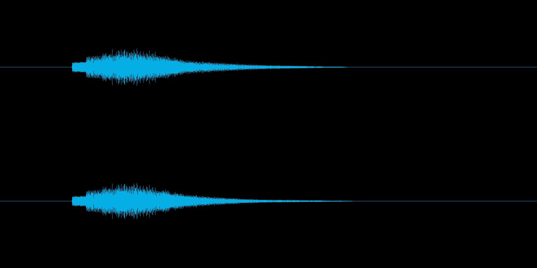 【ショートブリッジ20-5】の再生済みの波形