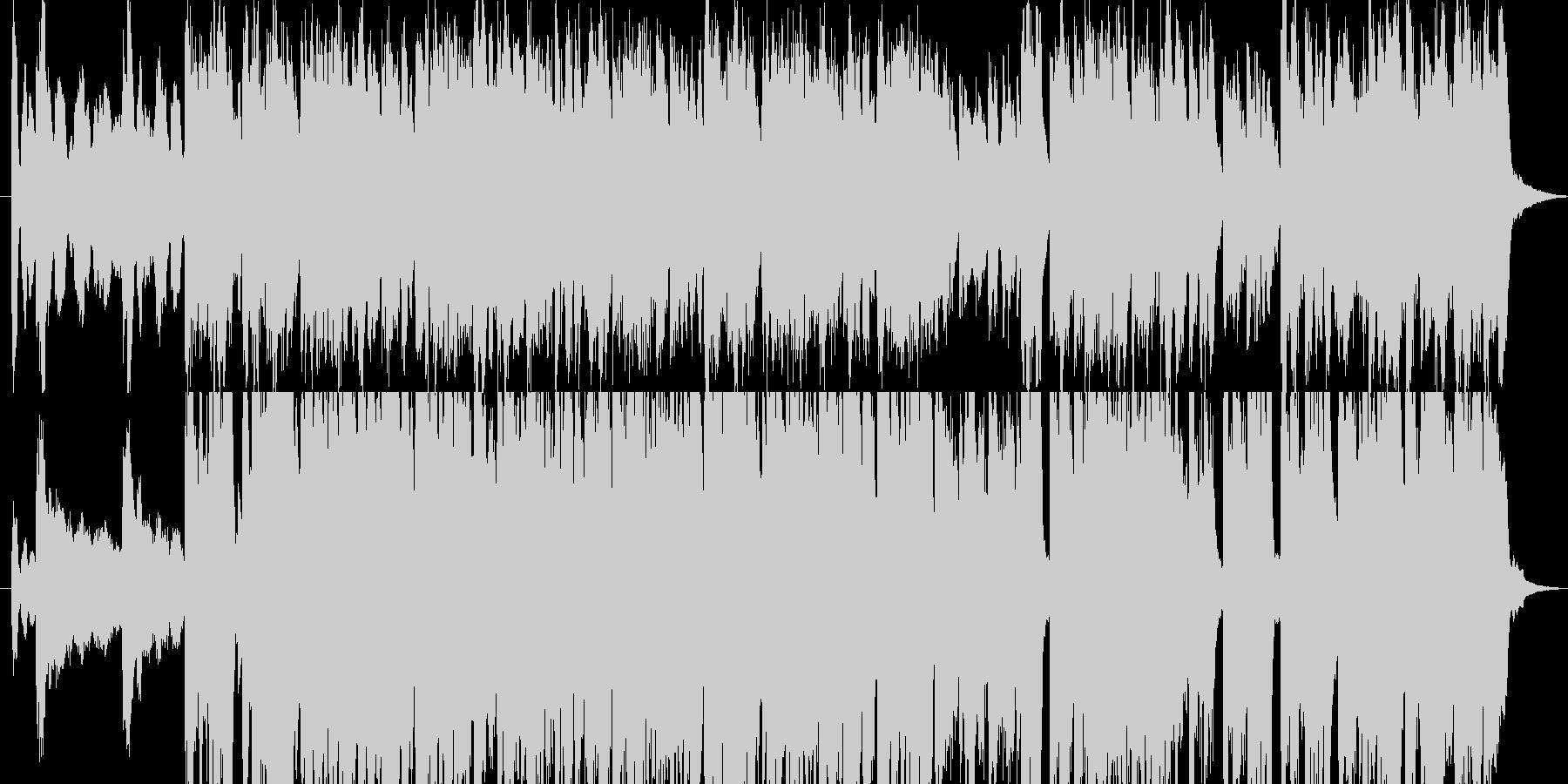 ケルトアイリッシュ聖剣伝説のフィールドの未再生の波形
