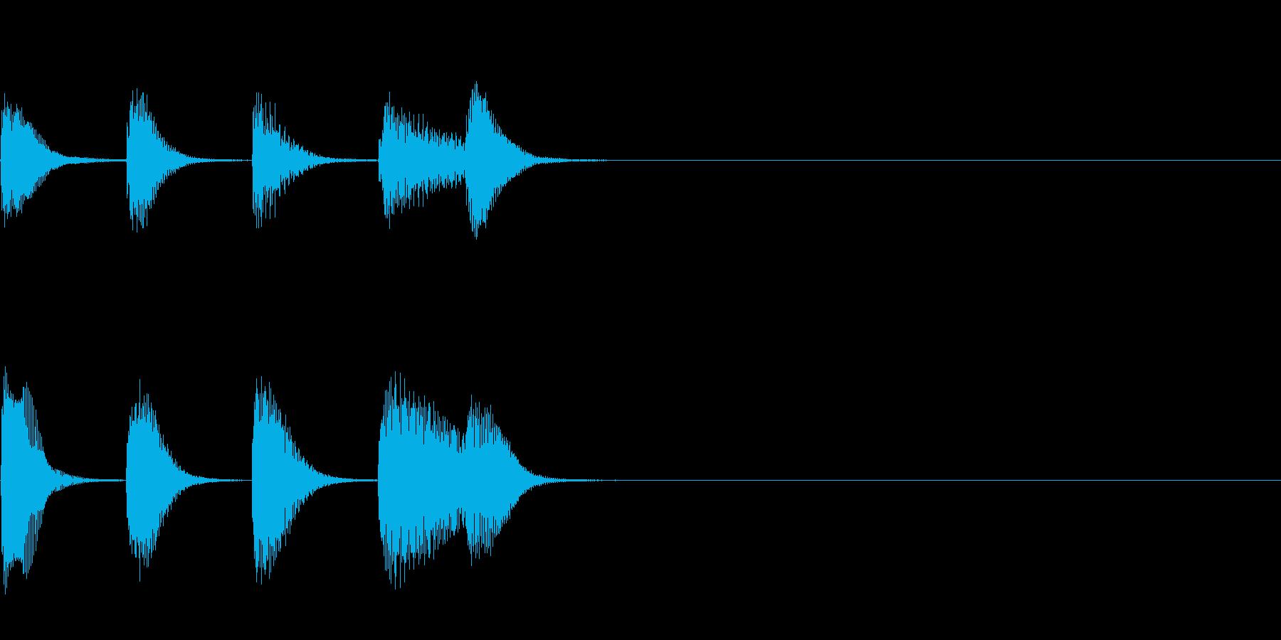 やさしいピアノ・サウンドロゴ2の再生済みの波形