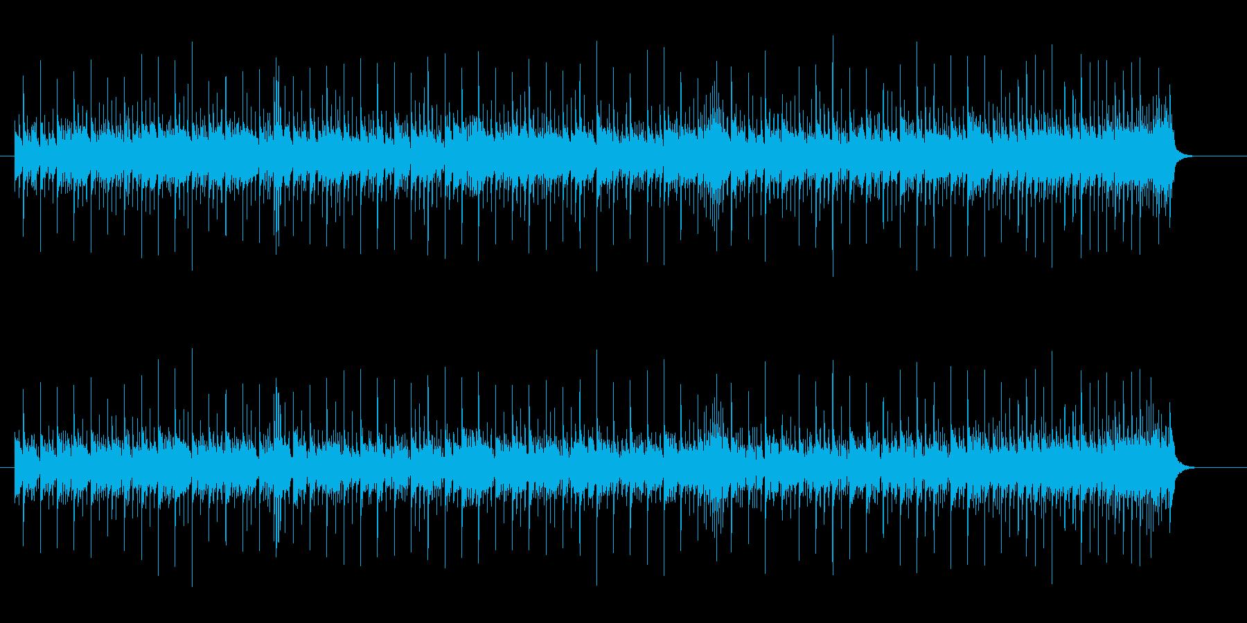 コミカル・タッチな8ビートの再生済みの波形