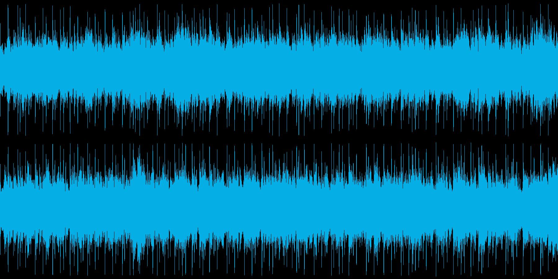 【ベース抜き】浮遊感、宇宙感のあるテクノの再生済みの波形