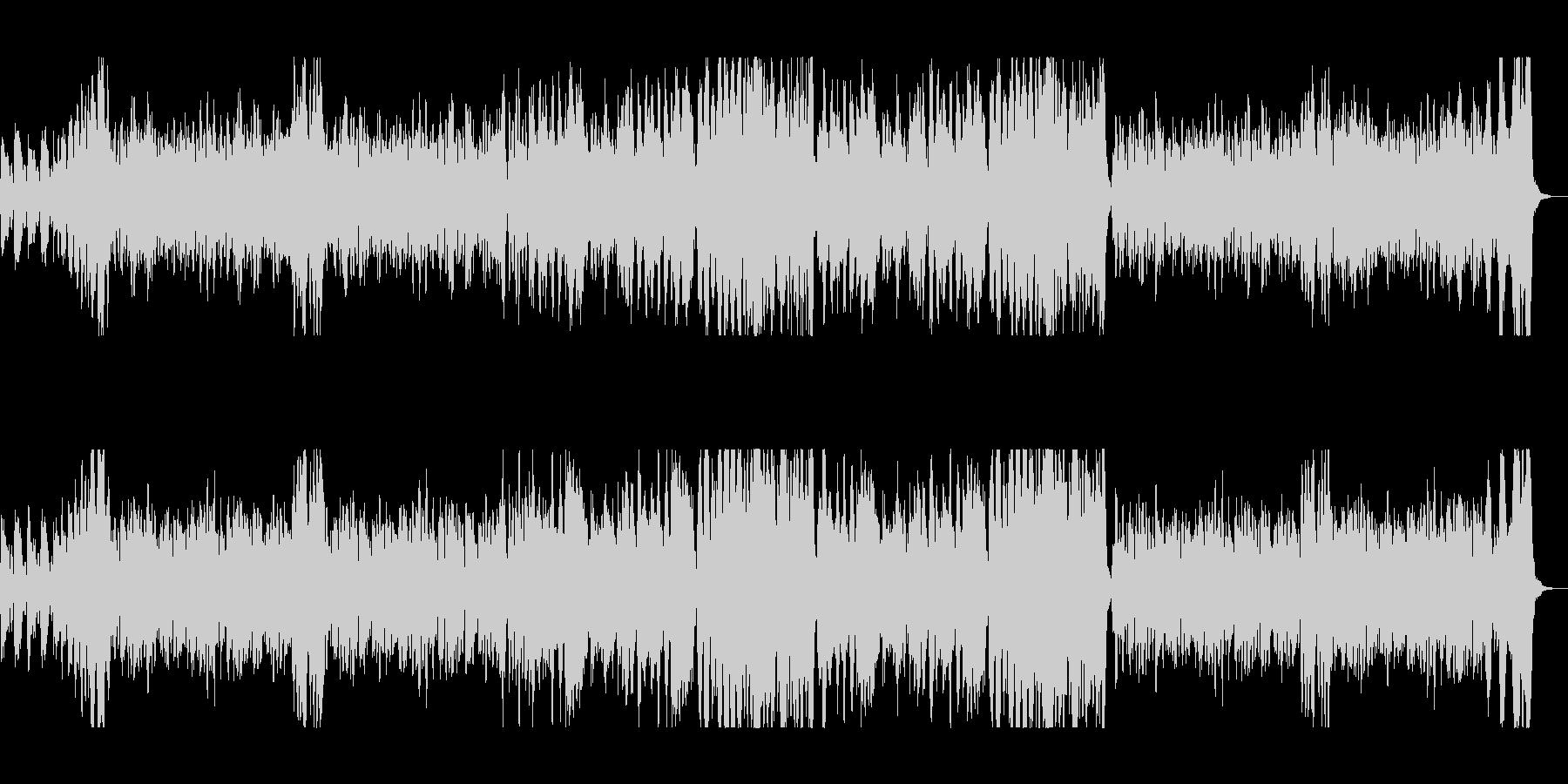 明るくコミカルな映像向けオーケストラの未再生の波形