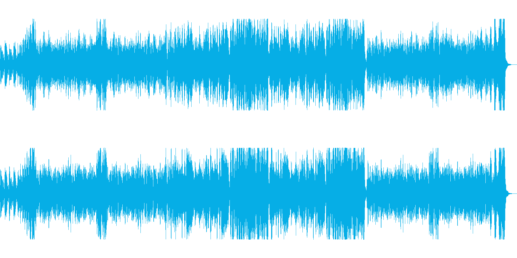 明るくコミカルな映像向けオーケストラの再生済みの波形