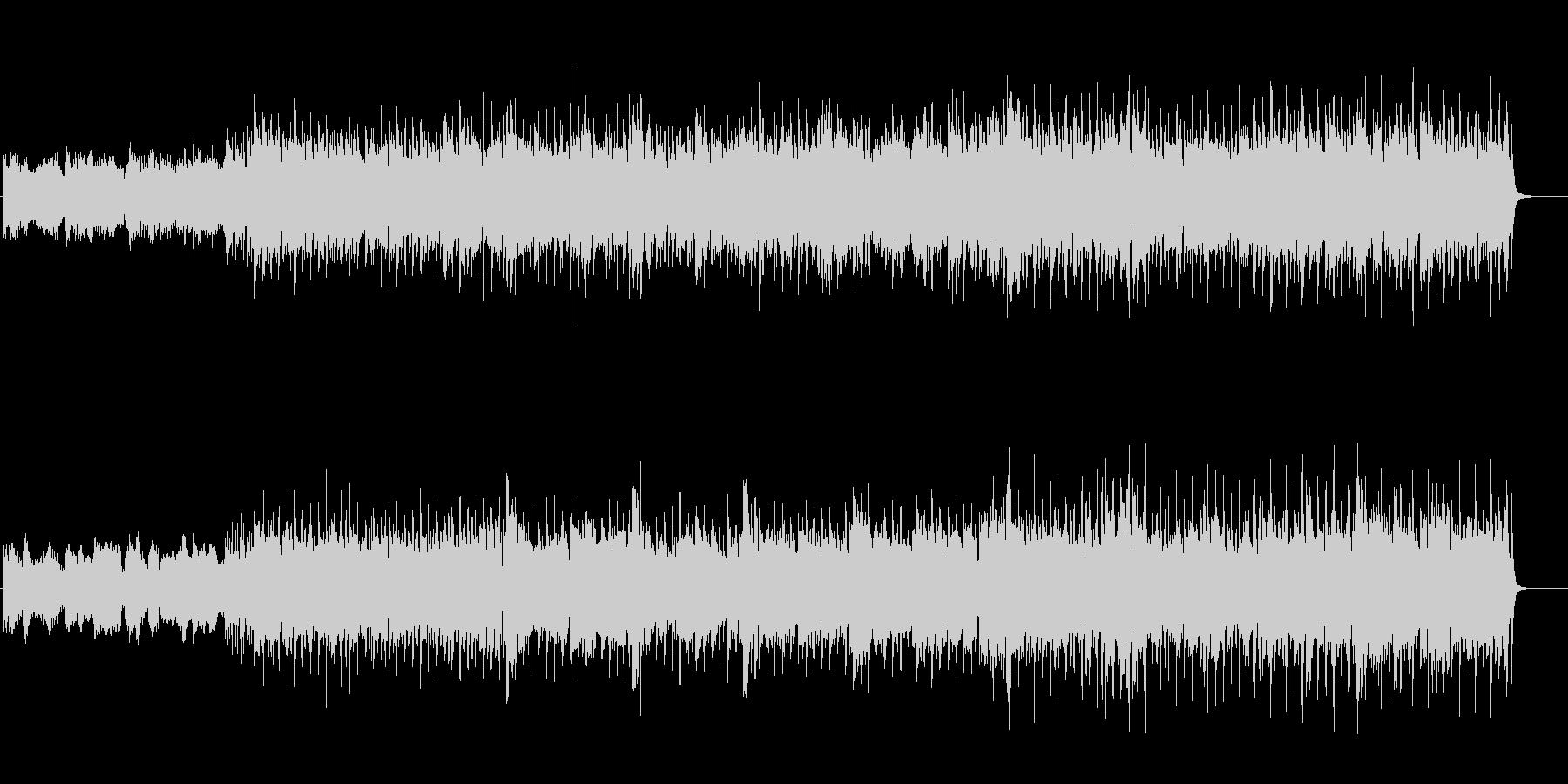 4つ打ちピコピコかっこいいBGMの未再生の波形