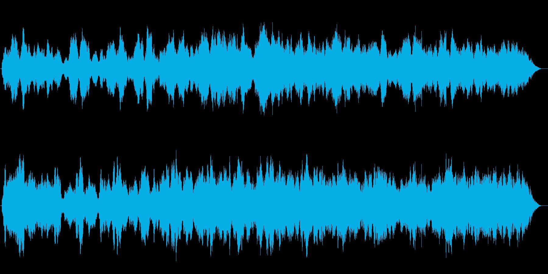 部屋でゆったりしたい時に聴く曲の再生済みの波形