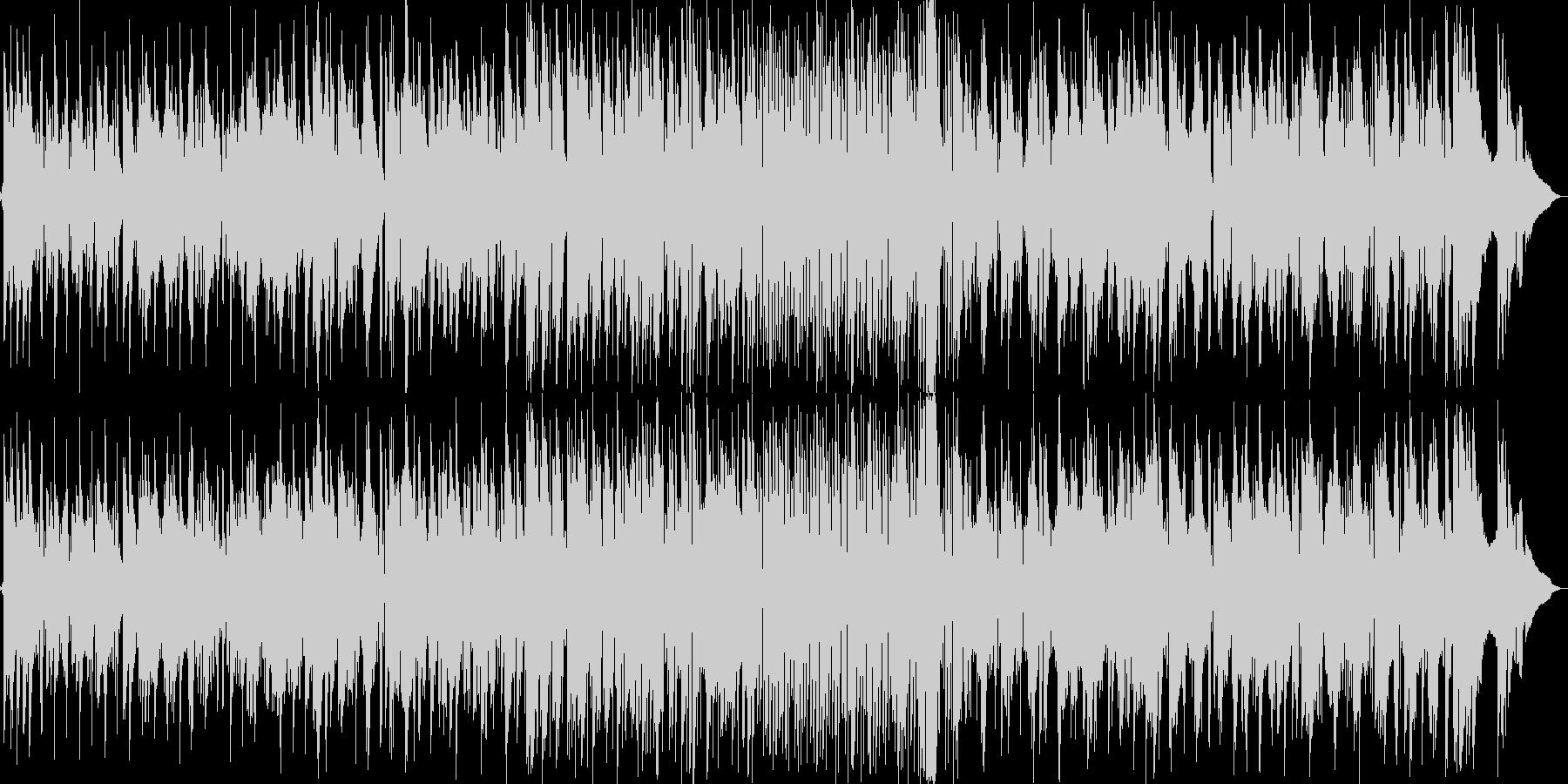 スタイリッシュなギターソロフュージョンの未再生の波形