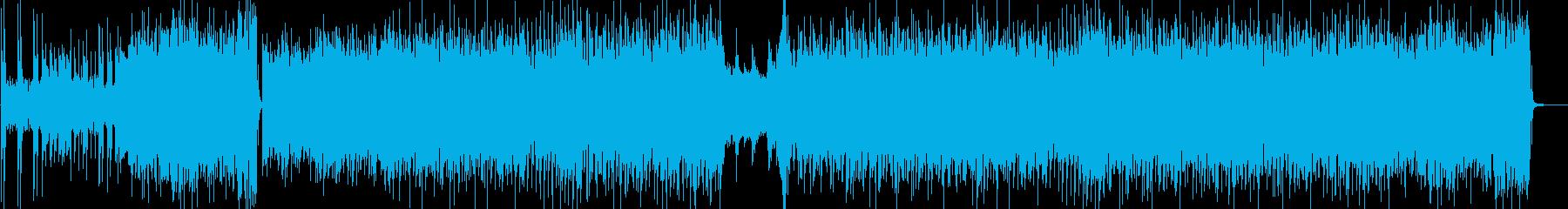 ピアノオーケストラBGMポップ映像にの再生済みの波形