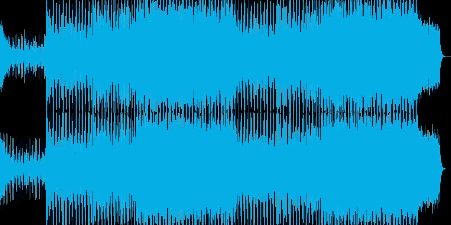 EDMクラブ系ダンスミュージック-92の再生済みの波形