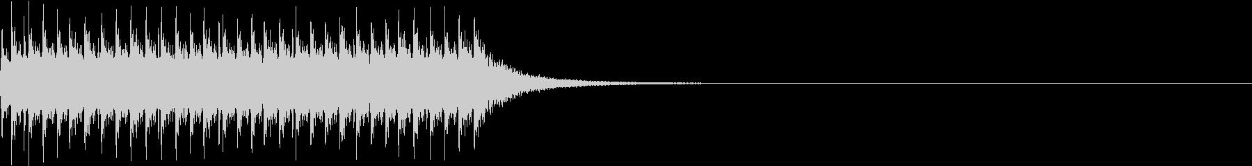 チリリリ。非常ベルC(高)の未再生の波形