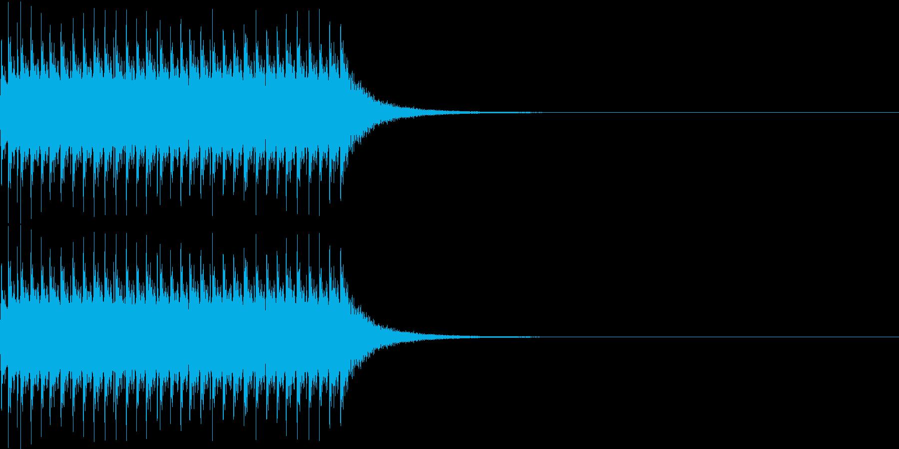 チリリリ。非常ベルC(高)の再生済みの波形