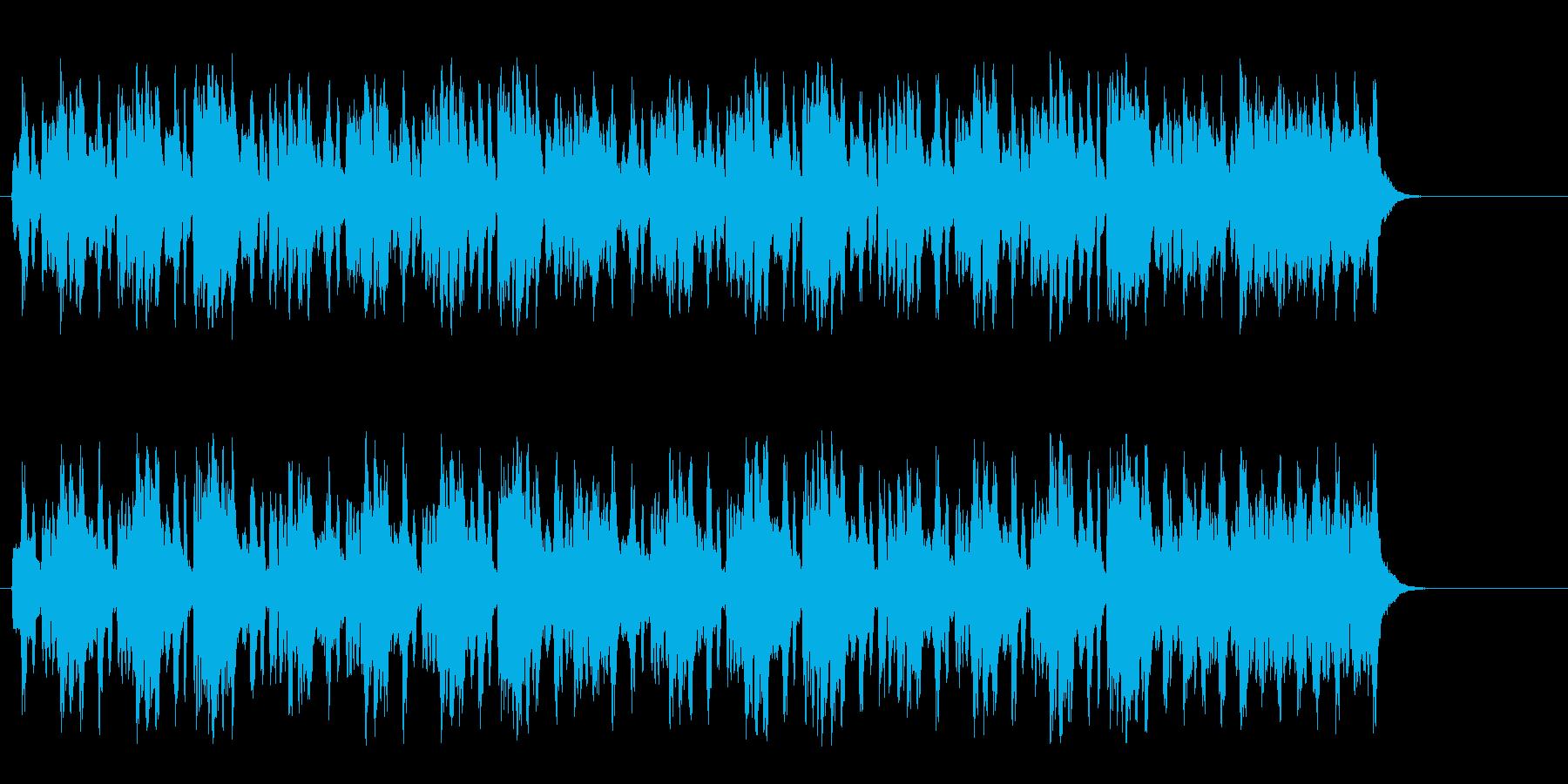 小春日和の優しい室内楽風クラシックの再生済みの波形