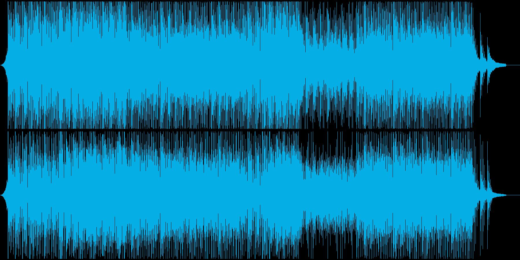 ポップ感動映像に オープニング系爽やかの再生済みの波形