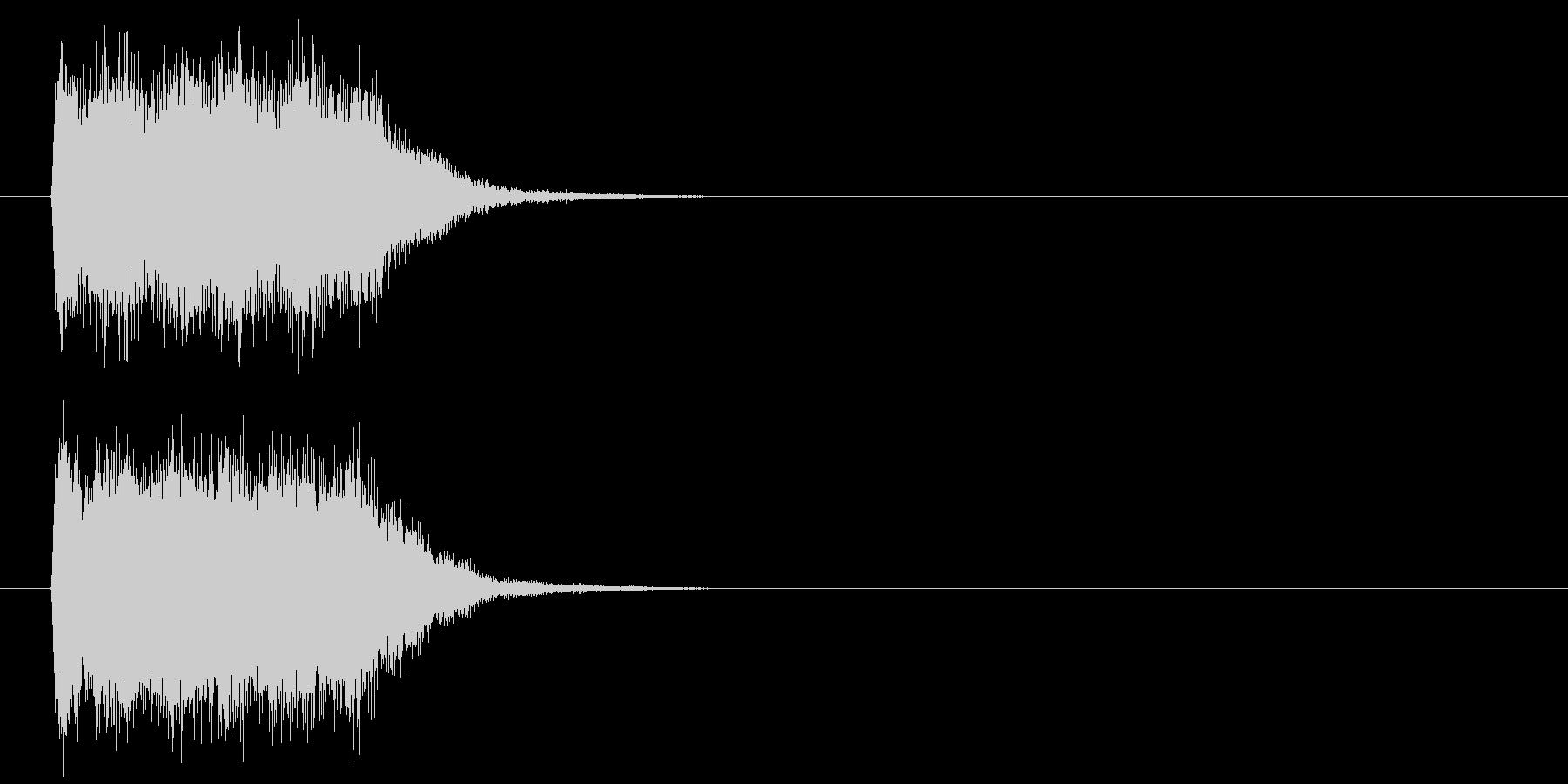 ビーム攻撃の未再生の波形