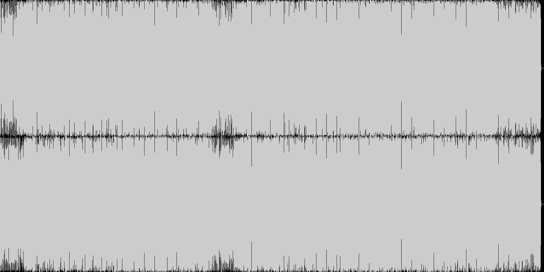 ちょっと切な目なテクノポップです。の未再生の波形