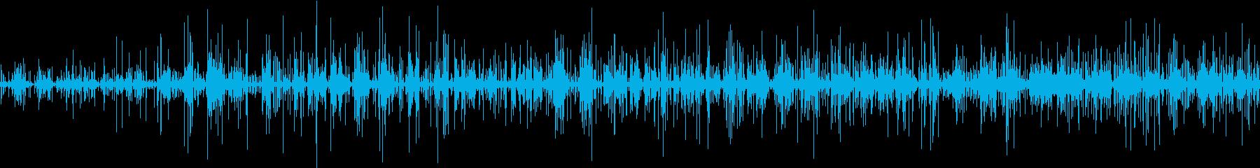 ピチョピチャ (少ない水流)の再生済みの波形