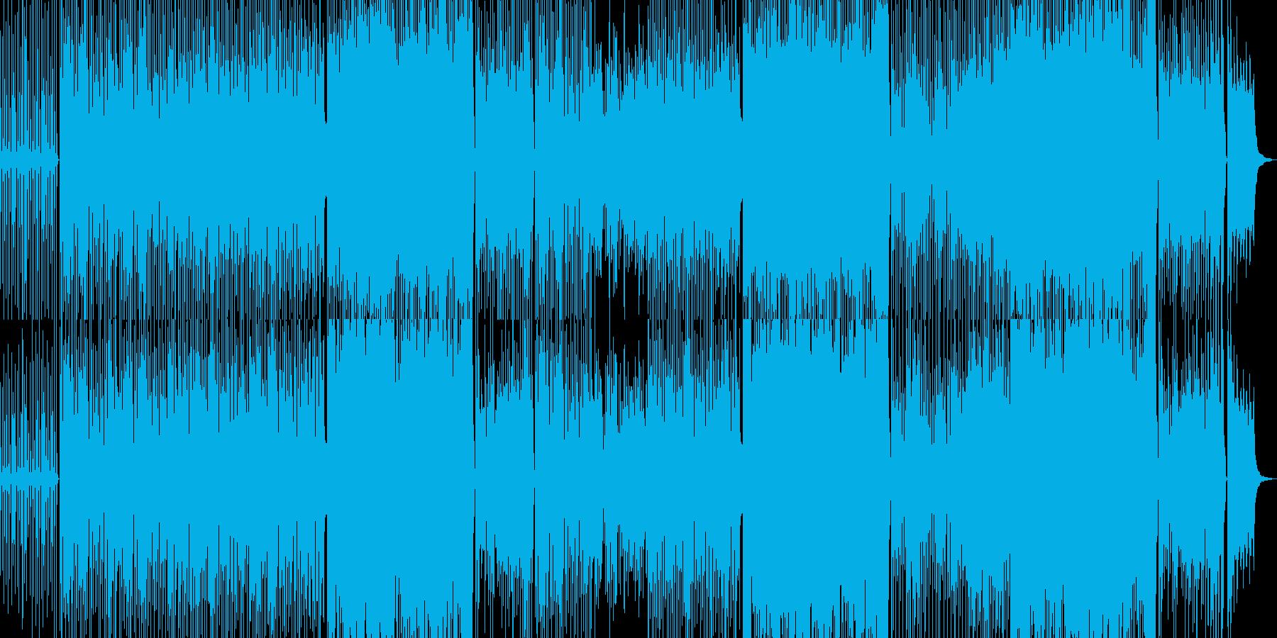 軽いタッチの和風テクノ可愛い笛琴BGMの再生済みの波形