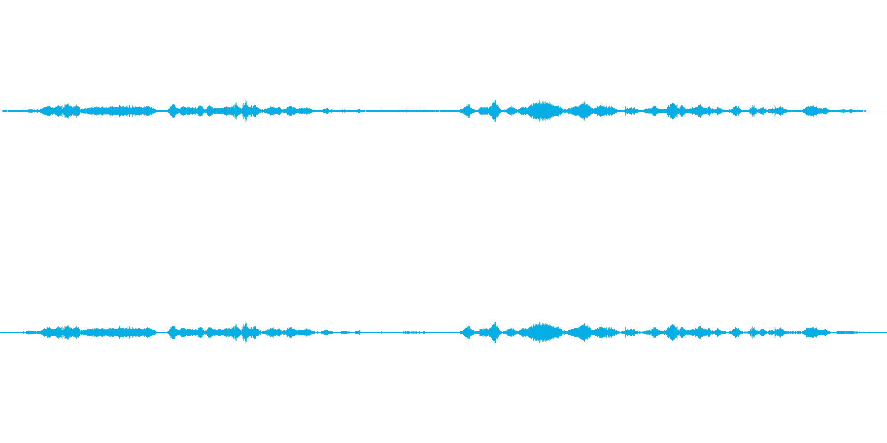(ブツブツぼそぼそ)の再生済みの波形