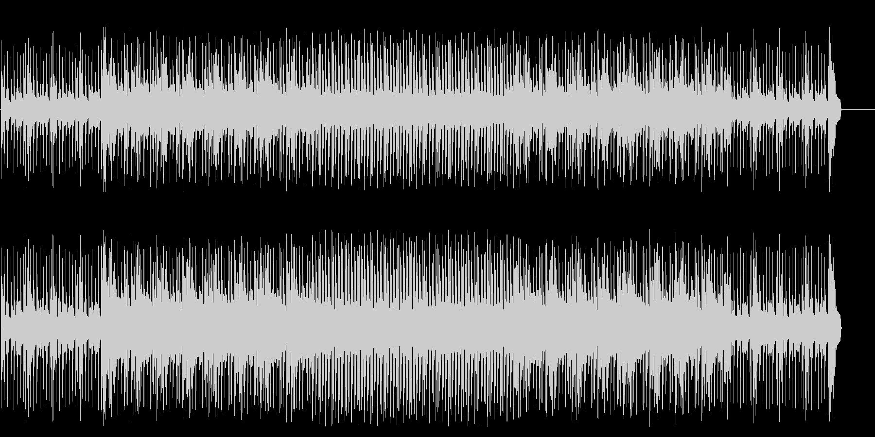 スリルとサスペンスのポップ/マイナーの未再生の波形