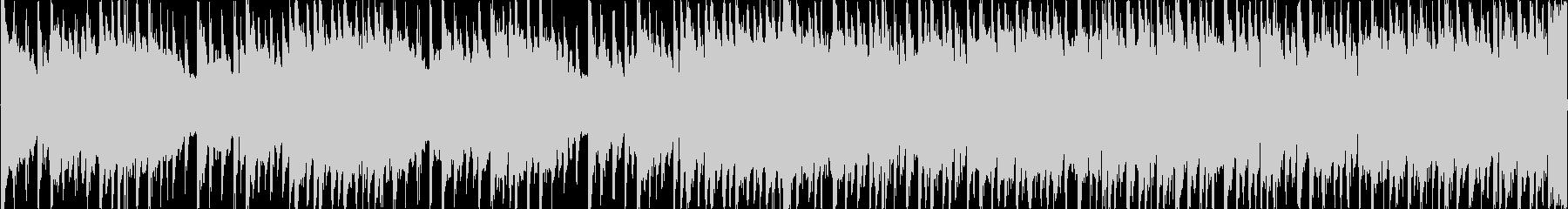 8bitチューンのRPG戦闘用楽曲1の未再生の波形