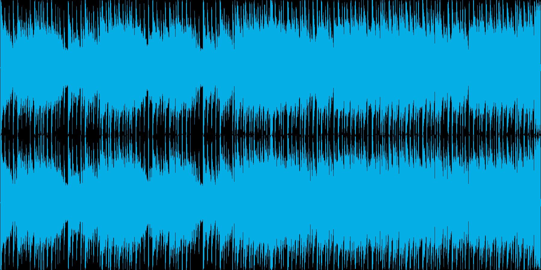 8bitチューンのRPG戦闘用楽曲1の再生済みの波形