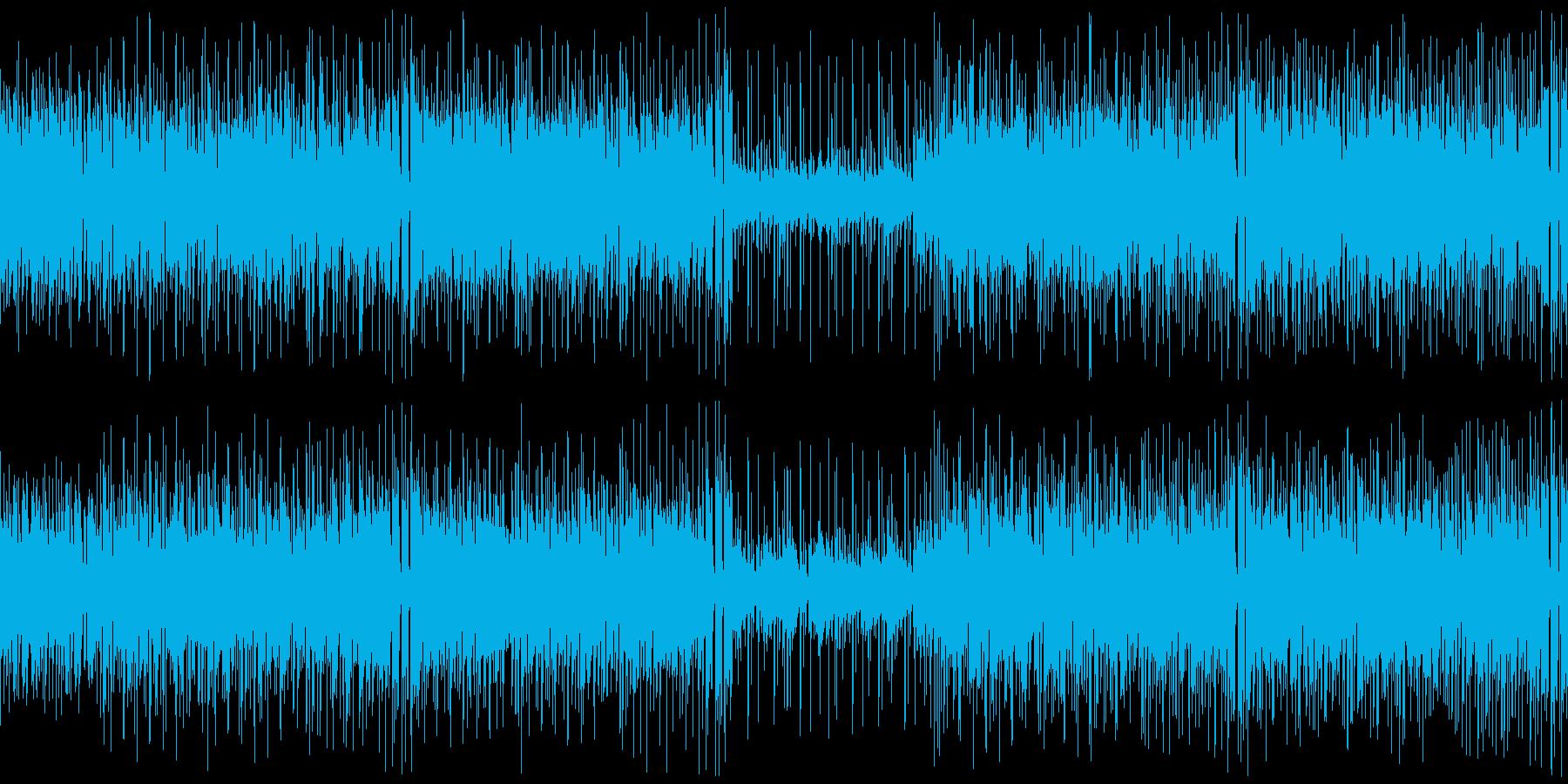クラビネット主体のファンキーなブルースの再生済みの波形