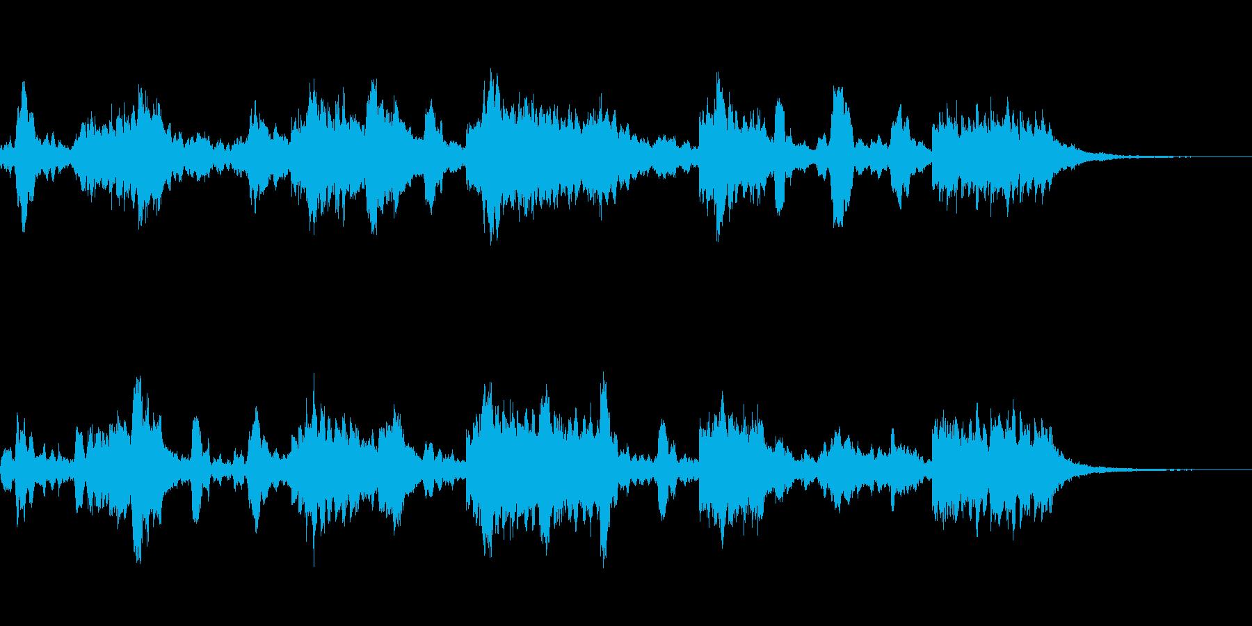 異国な感じのBGMの再生済みの波形