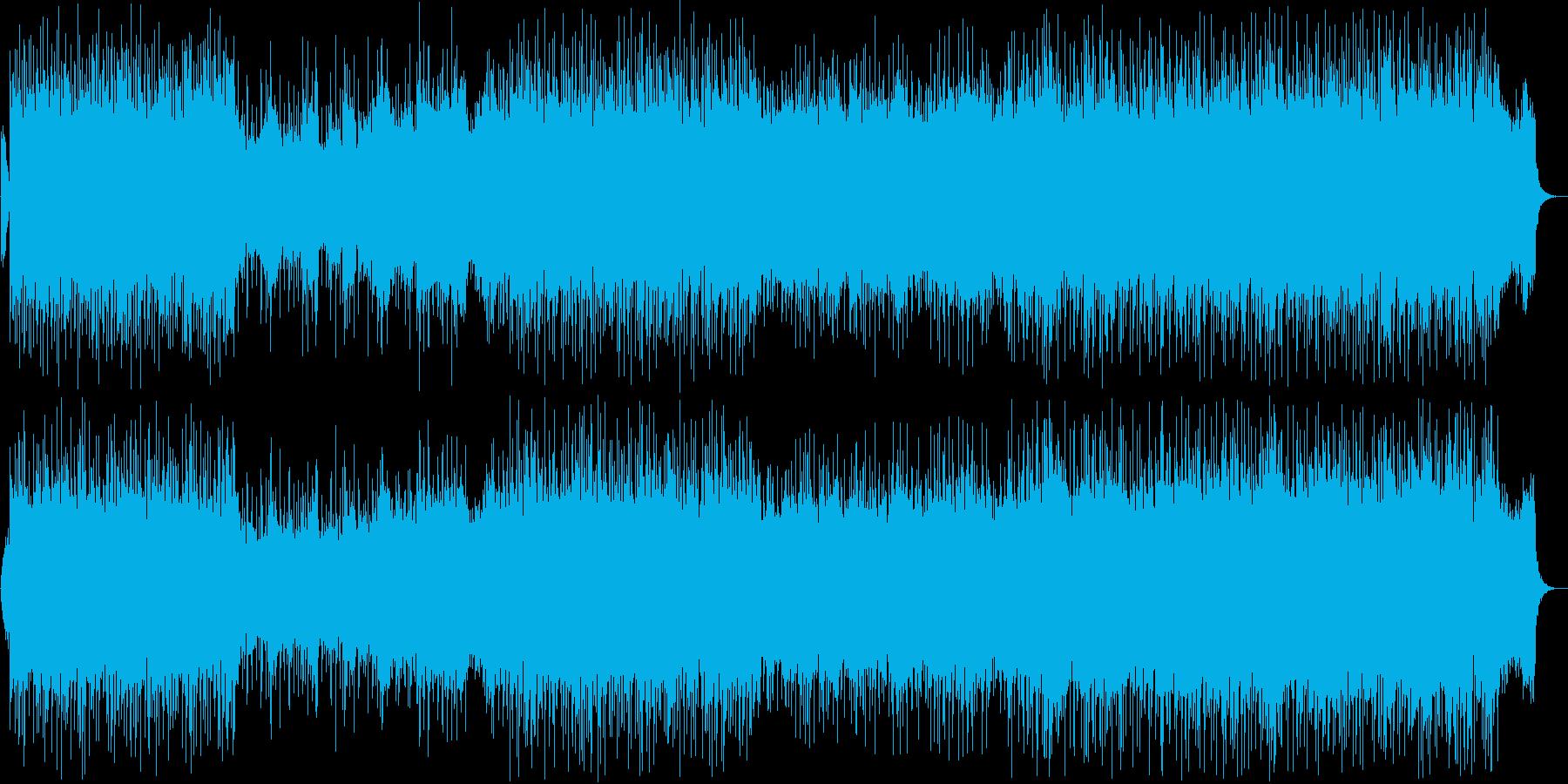 爽やかで懐かしいメロディーの再生済みの波形