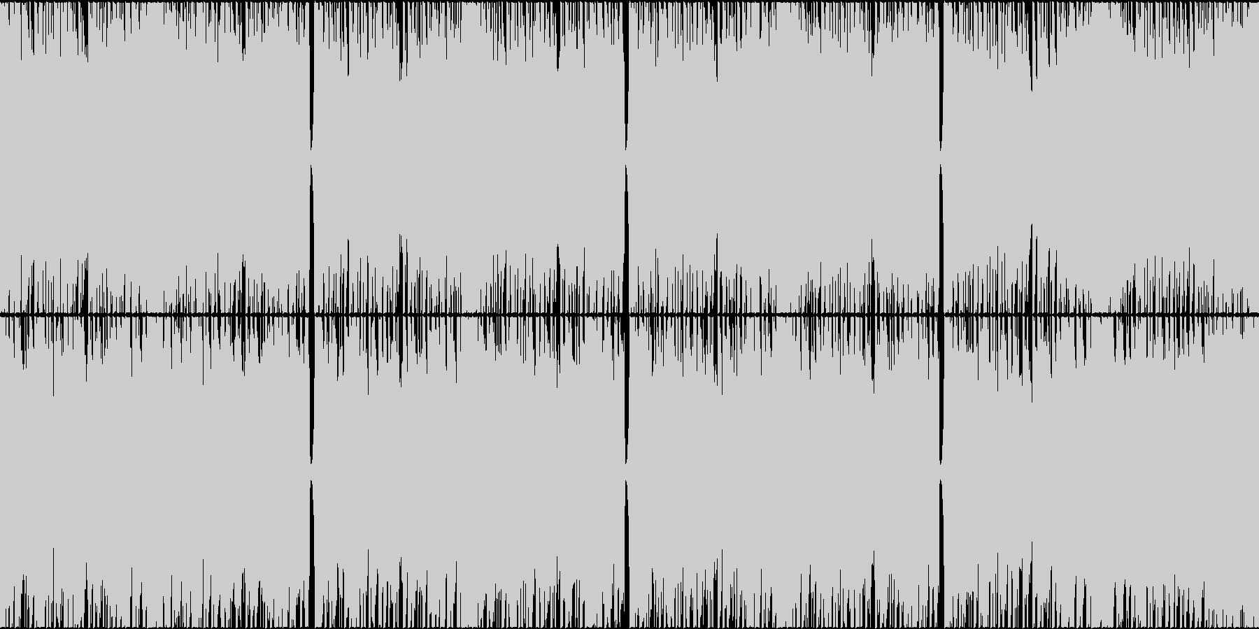 緊迫感、やる気が必要な場面に ループ対応の未再生の波形