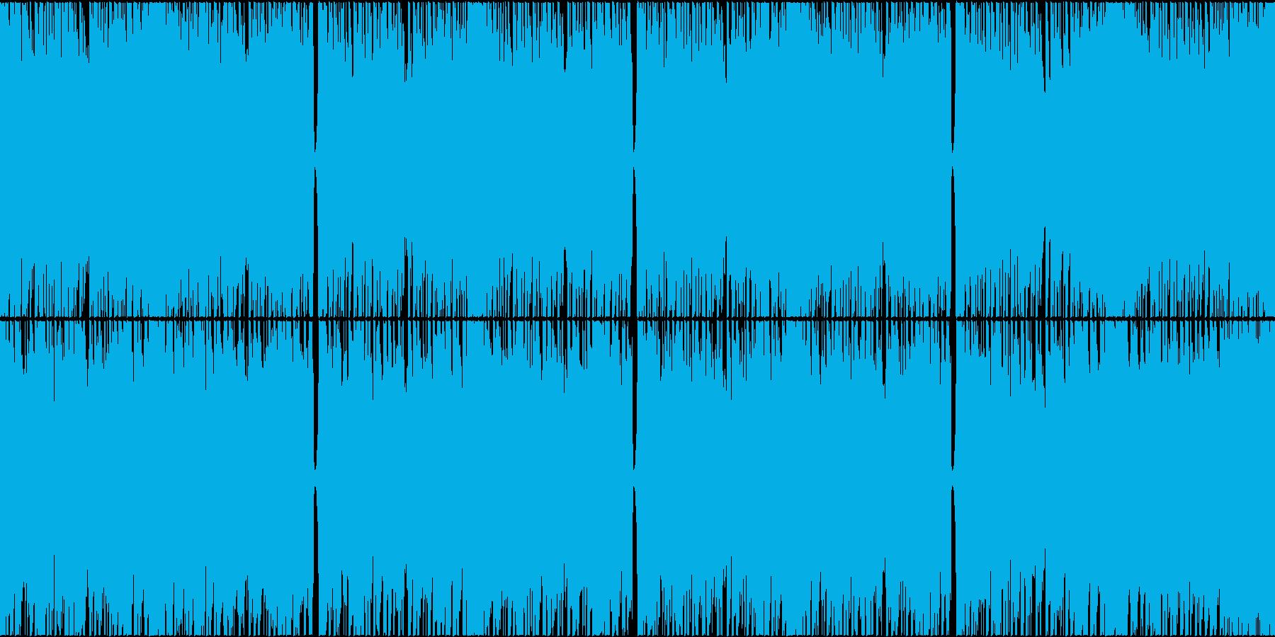 緊迫感、やる気が必要な場面に ループ対応の再生済みの波形