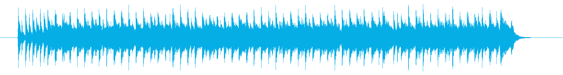 軽快でキャッチ―なエレキジングルの再生済みの波形