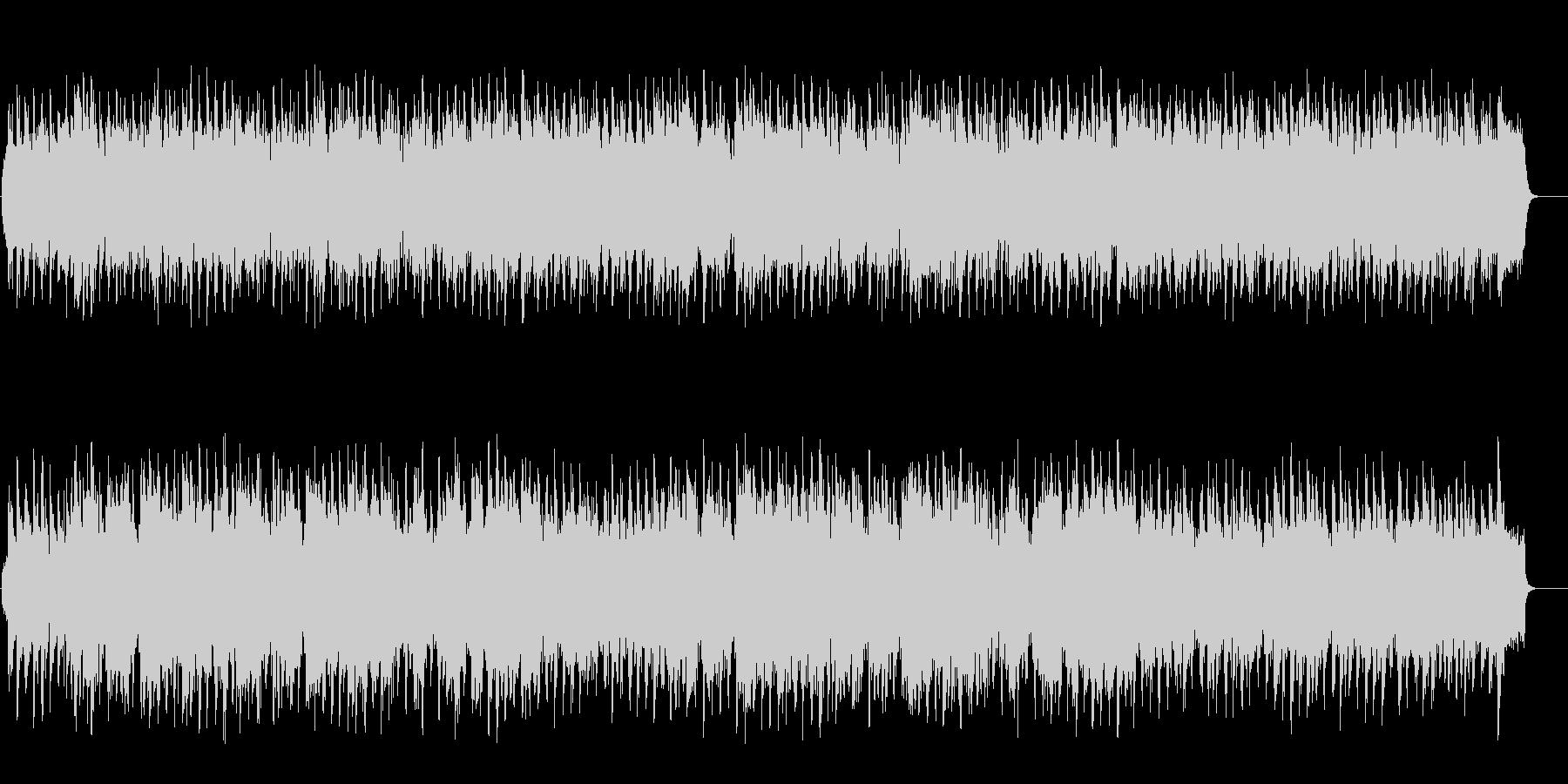 穏やかなセミクラ風ポップ(フルサイズ)の未再生の波形