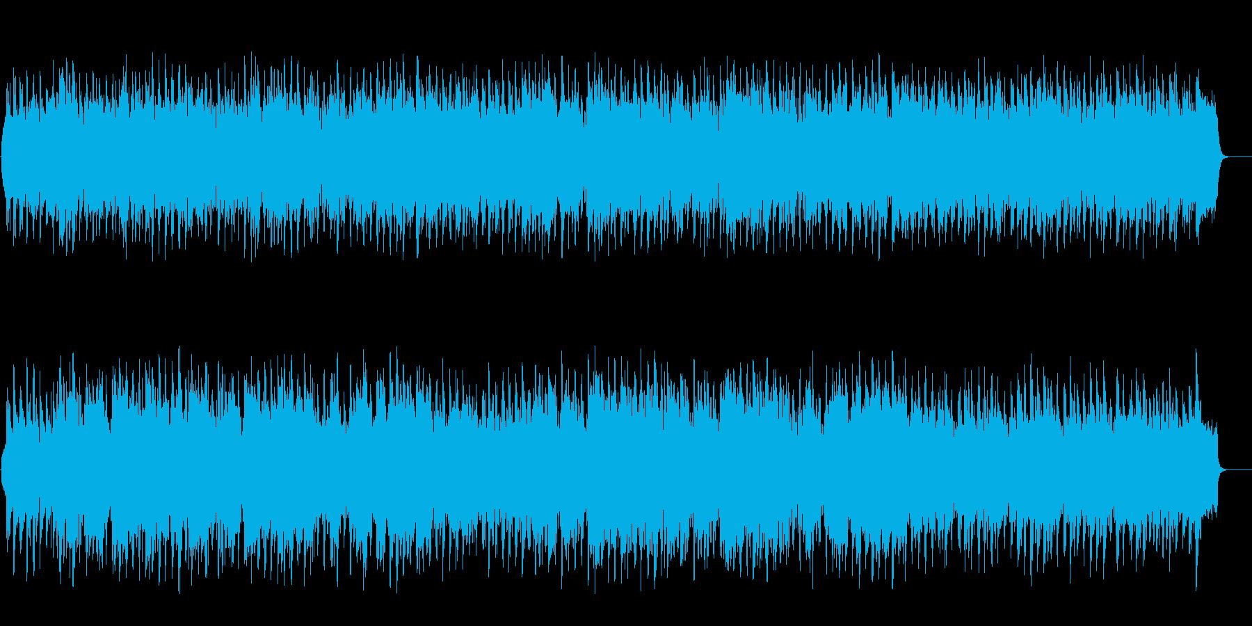 穏やかなセミクラ風ポップ(フルサイズ)の再生済みの波形