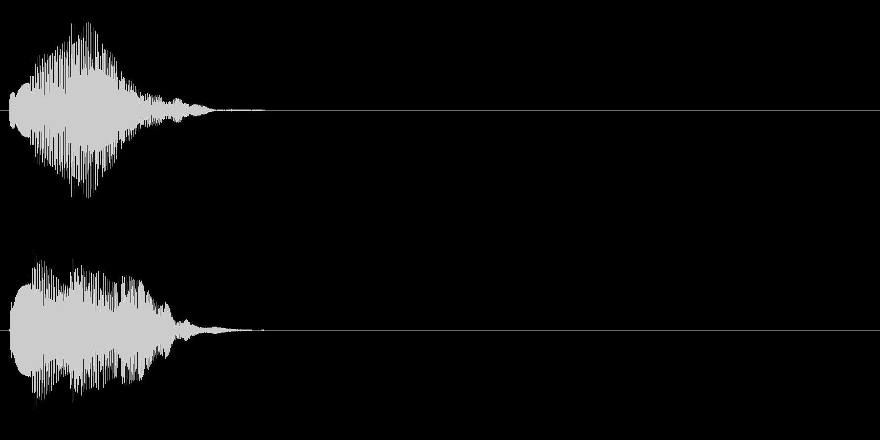 汎用 エレピ系05(中) アラート表示の未再生の波形