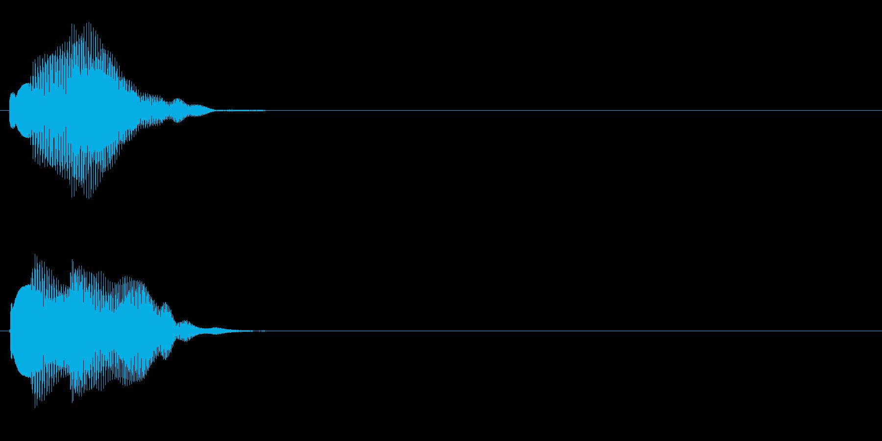 汎用 エレピ系05(中) アラート表示の再生済みの波形