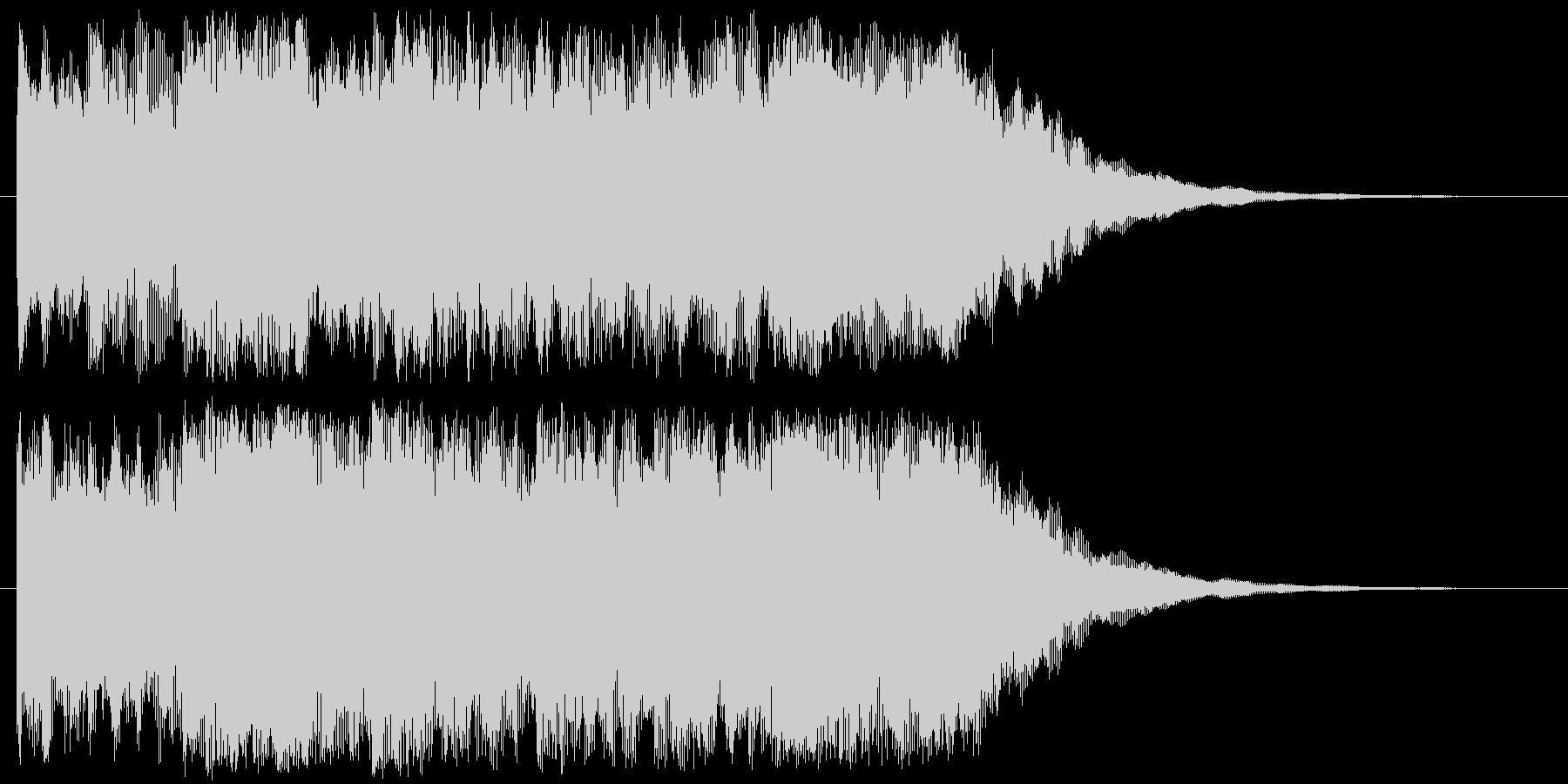 チャイム系な音の未再生の波形