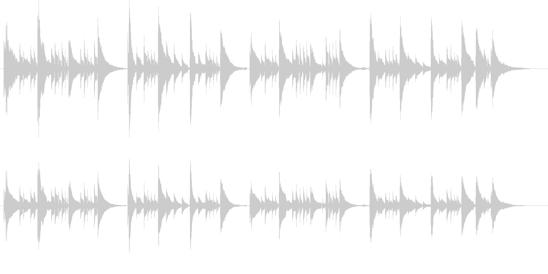 感動的なアコギのみの曲1【生演奏】の未再生の波形