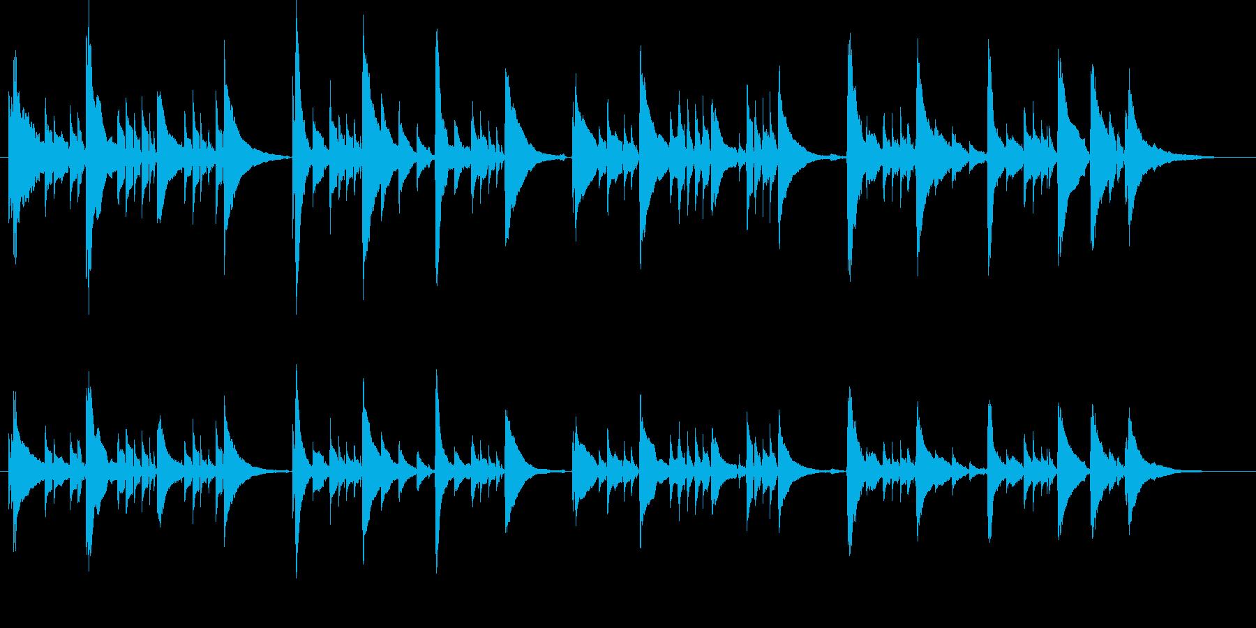 感動的なアコギのみの曲1【生演奏】の再生済みの波形