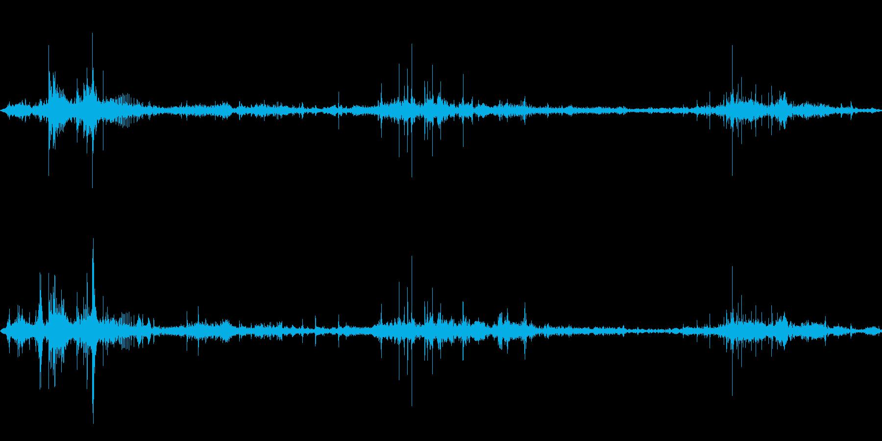 食べ物を食べる/かじる/噛む,効果音05の再生済みの波形