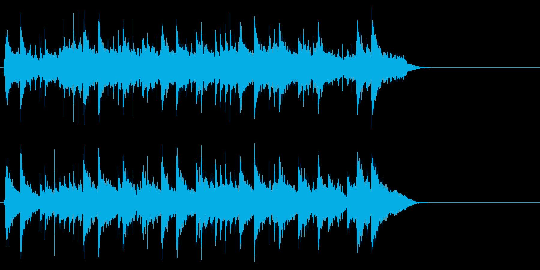 優雅で穏やかポップ(イントロ)の再生済みの波形