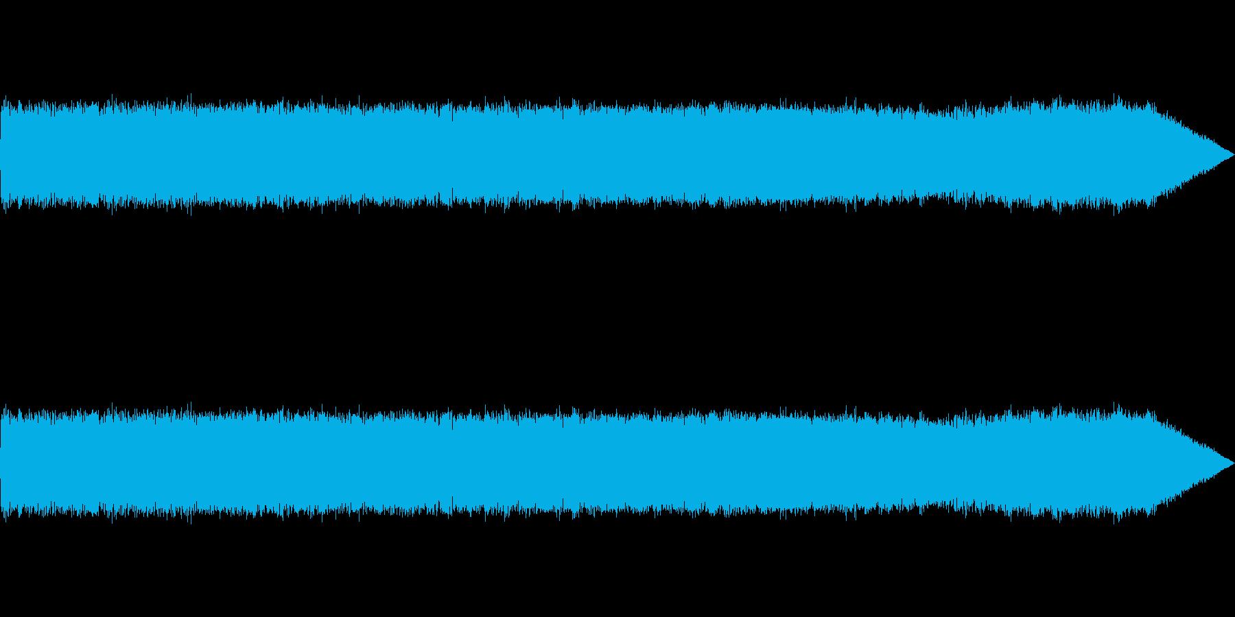 【生録音】ギターアンプノイズ02の再生済みの波形