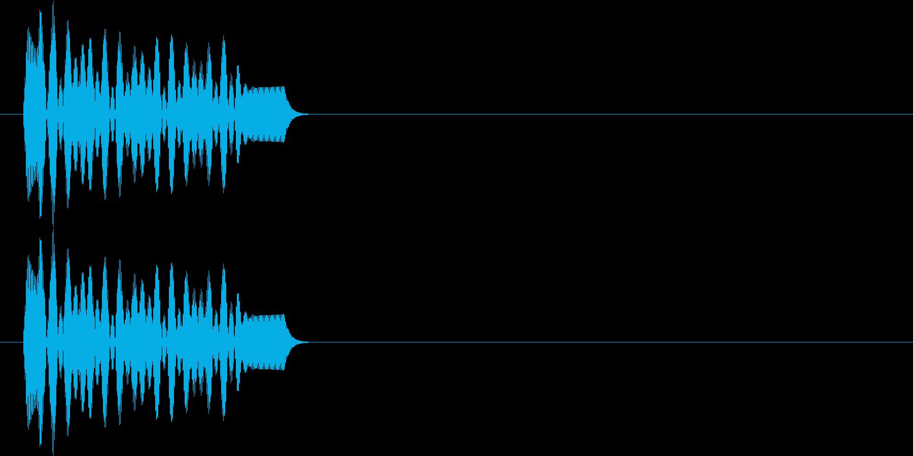 ポー(決定、アプリ)の再生済みの波形